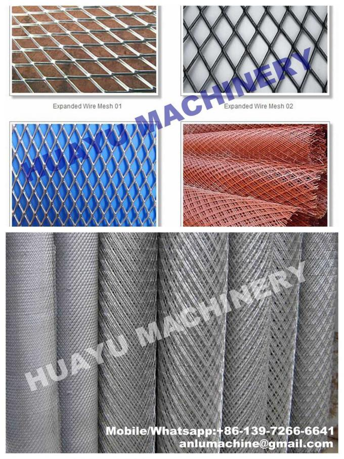 Heavy-duty Expanded Metal Mesh Machine for Basketry Mesh Making