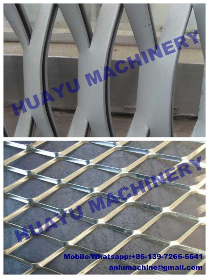 Heavy-duty Expanded Metal Mesh Machine Mesh thickness up to 8mm