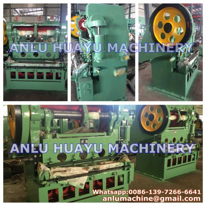 JQ25-25 Automatic Expanded Metal Mesh Machine