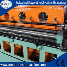 China low carbon steel sheet expanded metal mesh making machine supplier