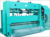 China Heavy-duty Expanded Metal Mesh Machine factory