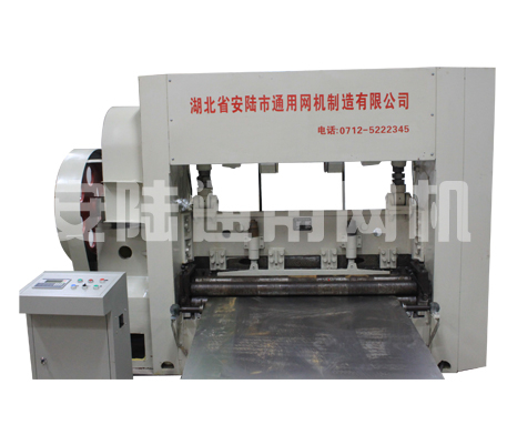 Y160M-4 Medium-sized expanded wire mesh machine