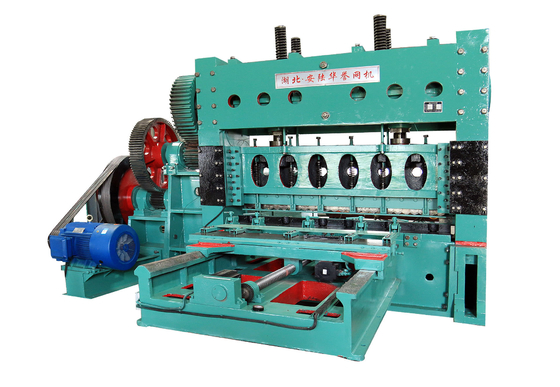 JQ25-260 type heavy steel expanded metal machine,