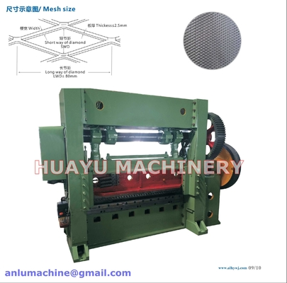 Popular High Speed Expanded Metal Mesh Machine production line JQ25-40